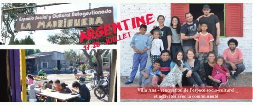 Argentine en juillet – Chantier international