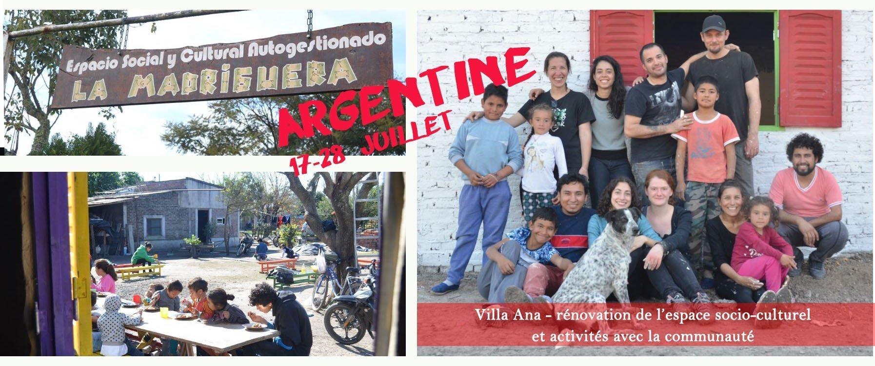 Argentine en juillet – Chantier international