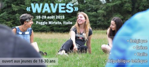 4.Italie – 19-28 août – échange de jeunes «Waves»