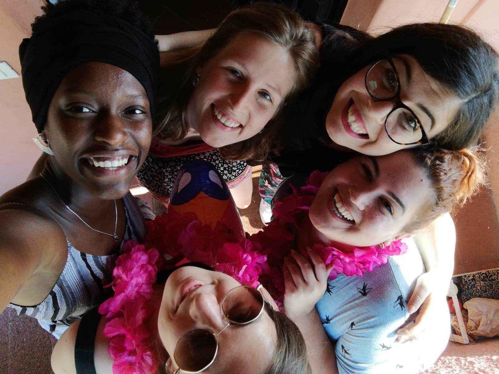 échange de jeune volontariat international